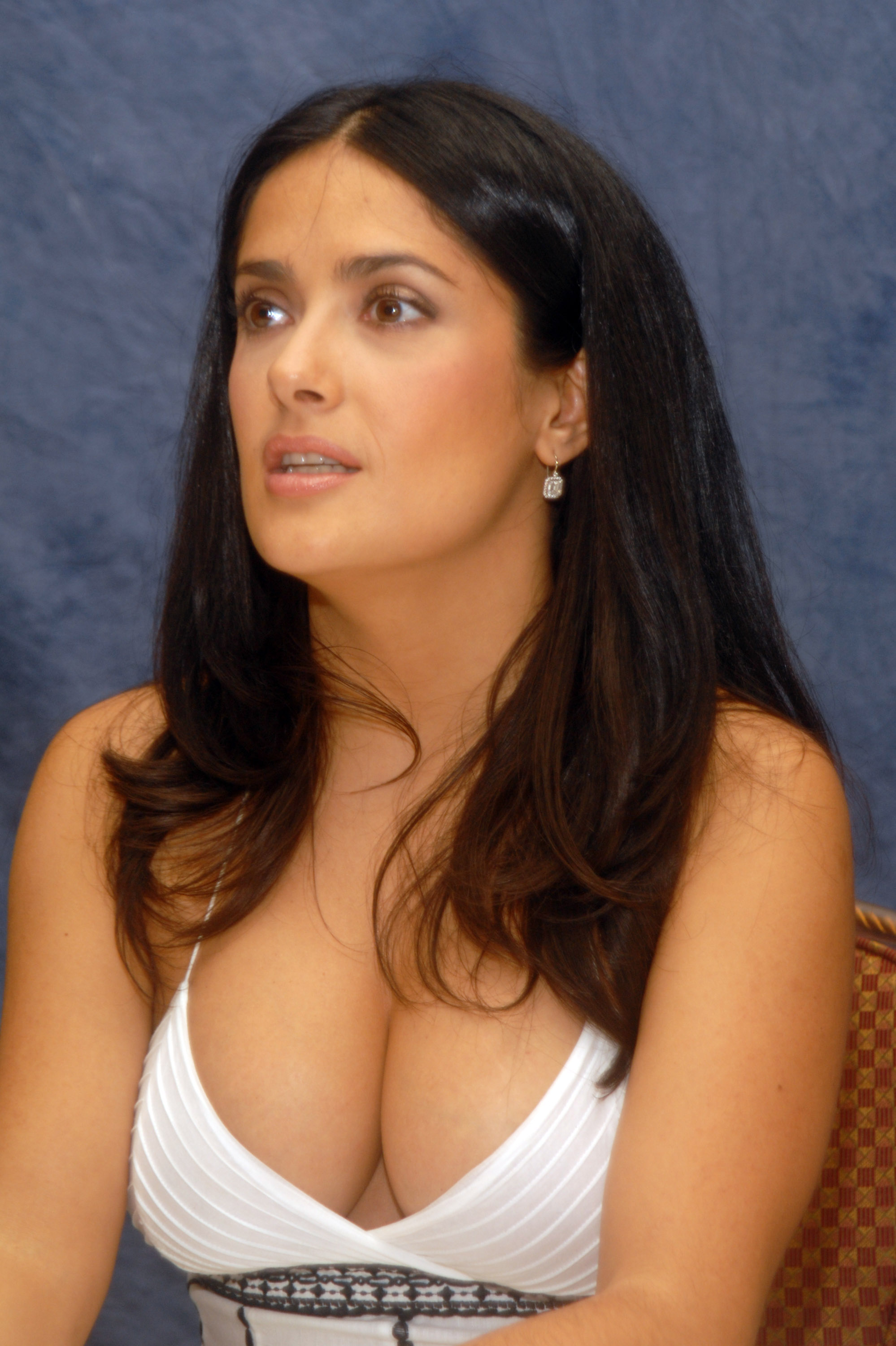 ugly betty press conference with salma hayek and america