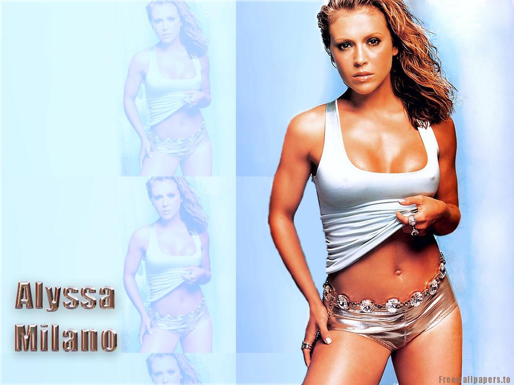 alyssa milano charmed female celebrity